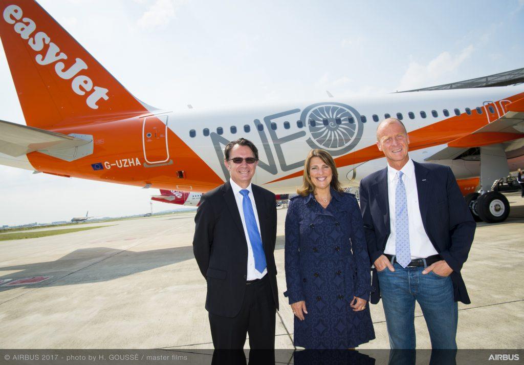 Първи A320NEO за easyJet