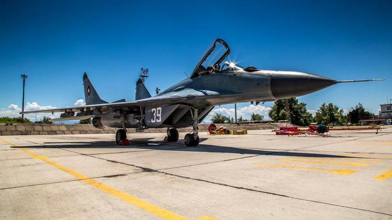 MiG-29 at LBGA