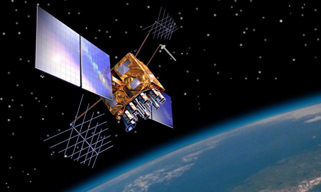 Така изглежда един от по-новото поколение спътници от системата GPS
