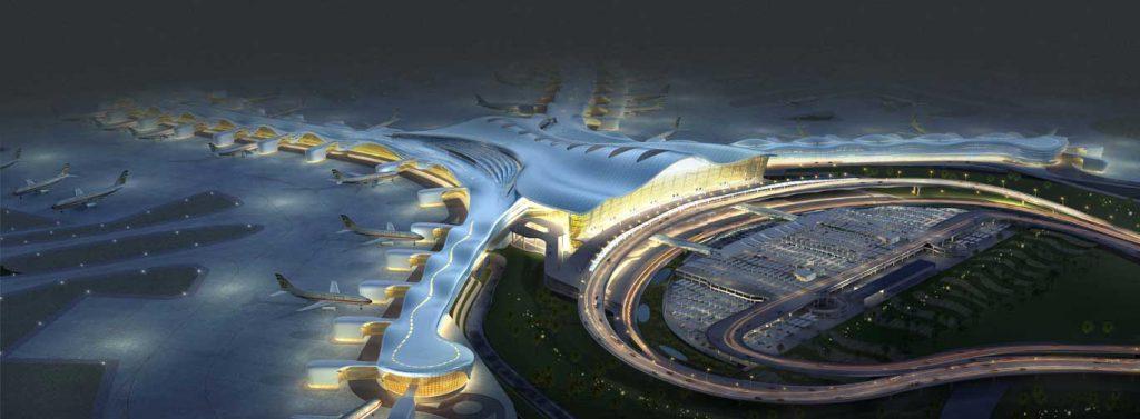 """Проектът за т.нар. """"среден терминал"""" на летището в Абу Даби - бъдещата база на Etihad"""