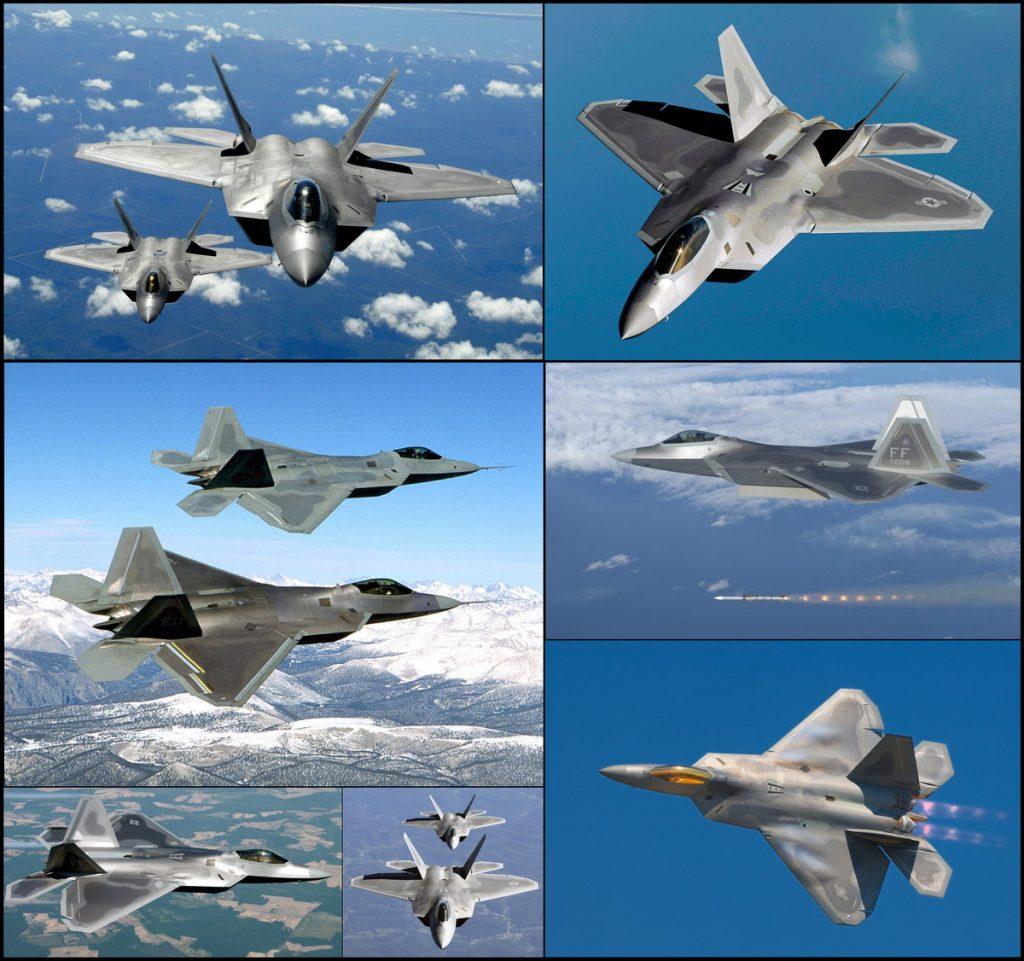 Първият сериен изтребител от поколение 4.5/5 - F-22 Raptor, е на въоръжените в USAF от 2005 с произведени 195 самолета