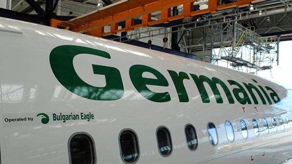 Bulgarian Eagle e 100% собственост на Germania и не е засегната финансово от фалита, въпреки че и двата самолета на авиокомпанията са запорирани.