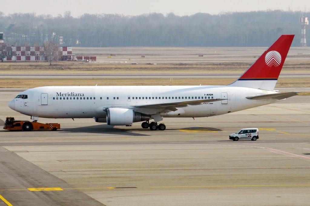Boeing 767 на Meridiana