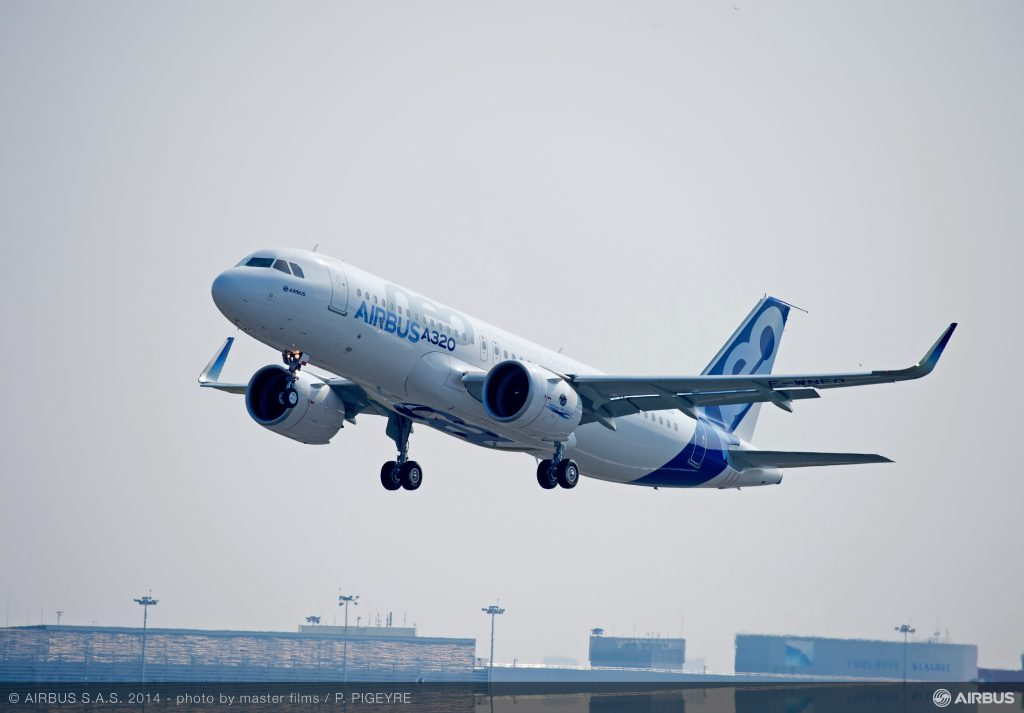 Airbus A320neo, който няма да е застрашен от конкурцията на CSeries