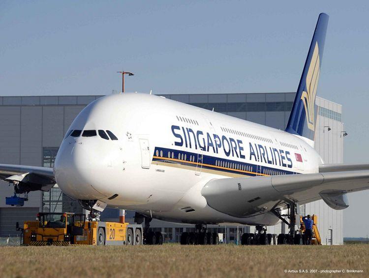 SQ A380 - фабрично новичък