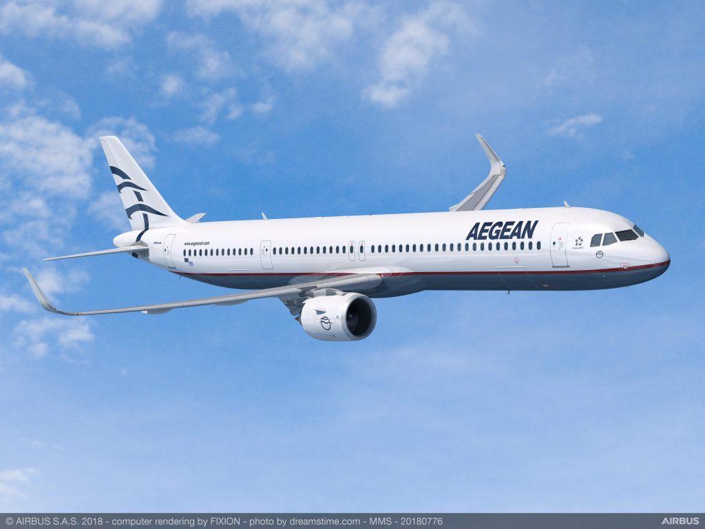 A321neo e най-големия представител на семейството с капацитет от 185 до 240 места и далечина на полета до 7 400 км.