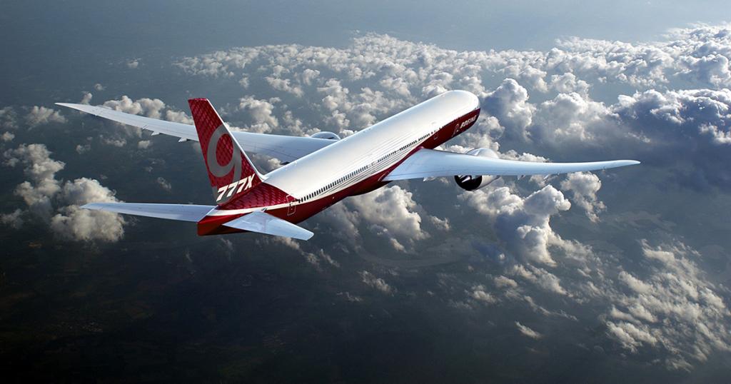 Флагманът Боинг 777-9 ще разполага с до 440 места
