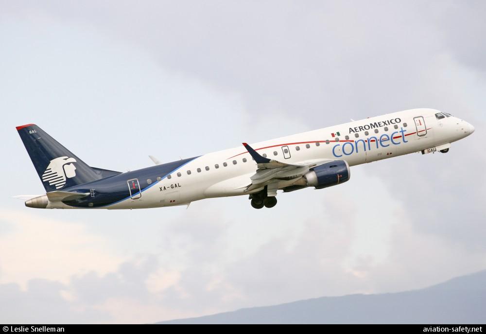 Aeromexico Connect, Embraer E-190, XA-GAL