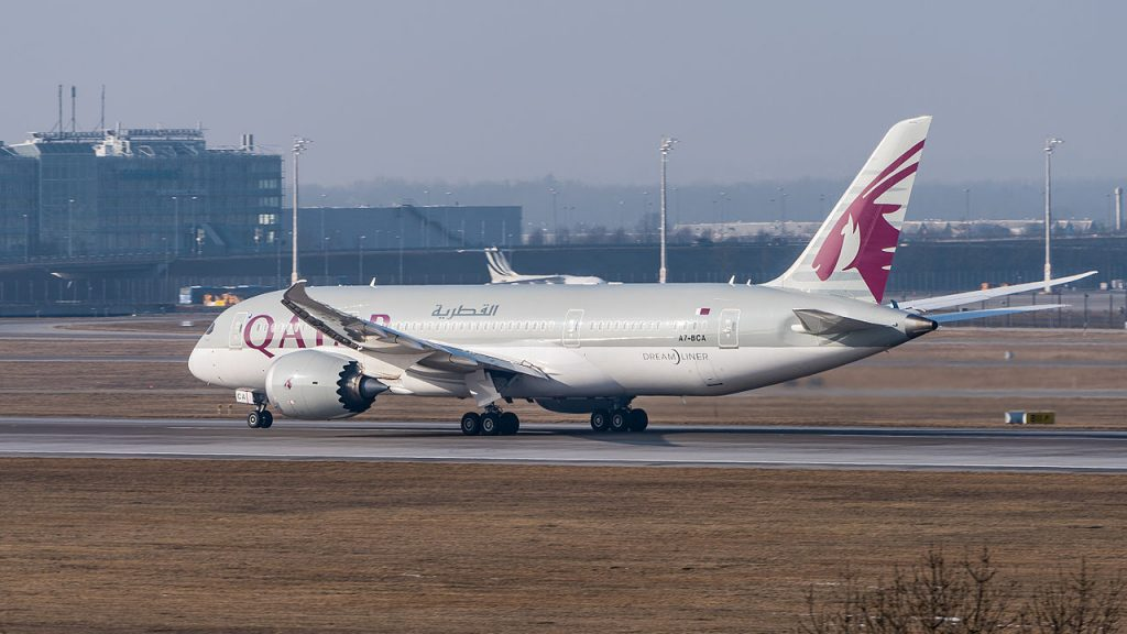 Qatar Airways разполага с 30 Боинга 787-8 във флота