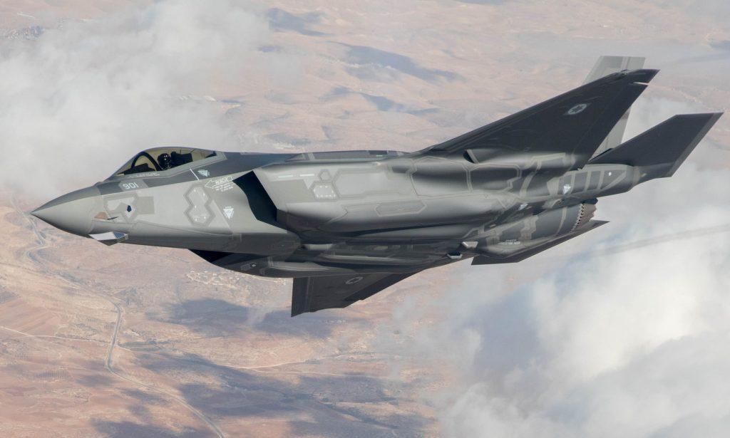 F-35I Adir е израелската версия на стелт-изтребителя, която вече участва активно в бойни действия