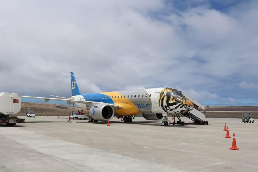 Embraer E2 е новото поколение на изключително популярното регионално семейство E-Jets. Този Е190-Е2 наскоро завърши световната си обиколка по представяне на новите модели.