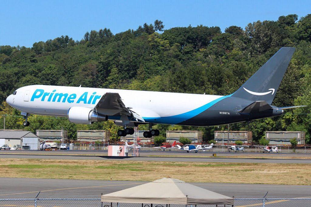 Целият флот на Amazon Prime Air е съставен от конвертирани Боинг 767-300F