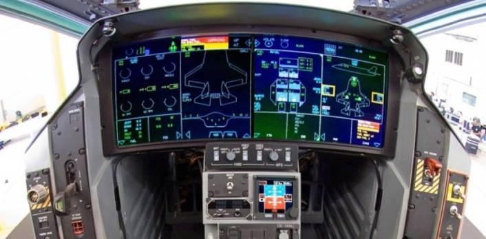 Кокпитът на F-35 - открийте разликите