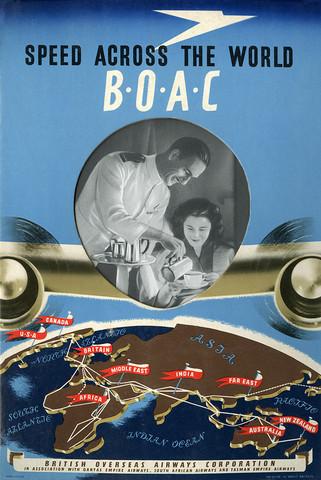Постер на BOAC