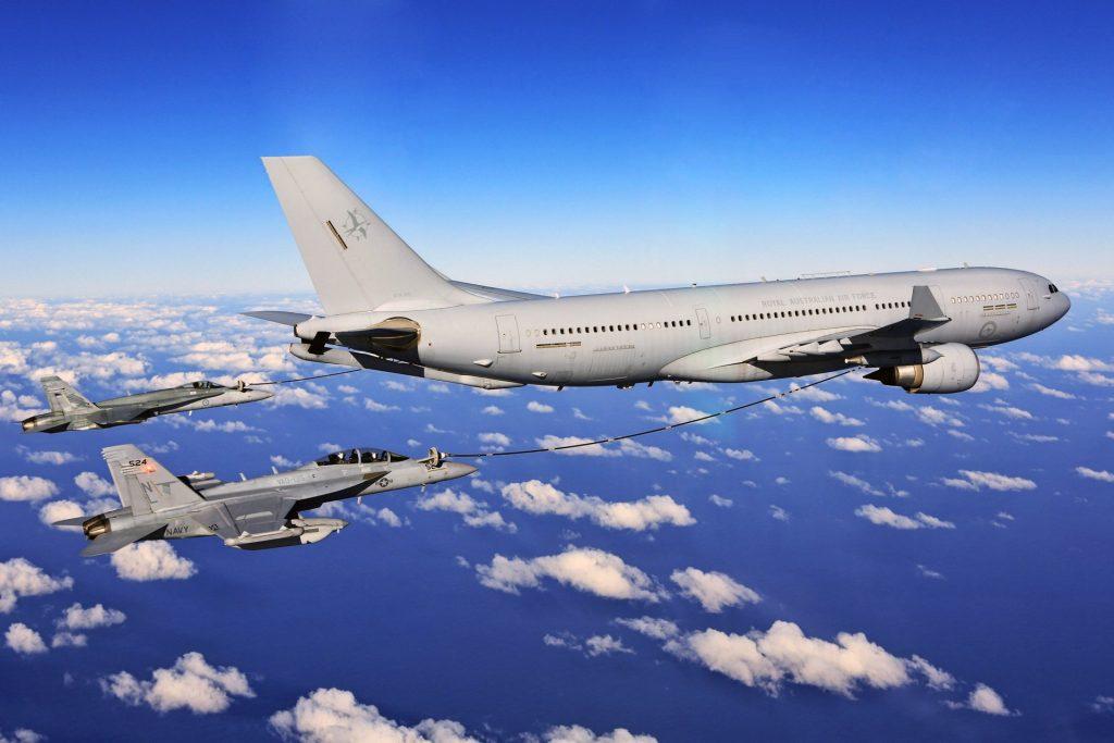 Airbus A330 MRTT /Multi Role Tanker Transport/ беше първоначалния победител в конкурса за нов танкер на американските ВВС, по-късно отменен след обжалване на Боинг в съда