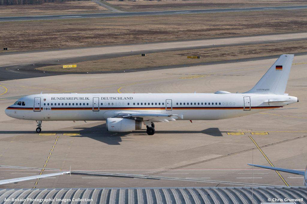 Правителството разполага и с един А321-200 за специалн мисии.