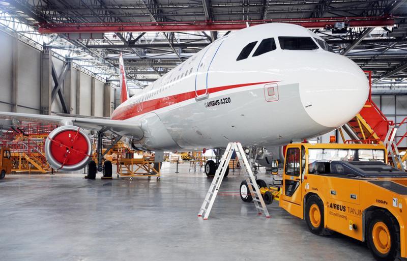 Заводът на Airbus в Тианжин, Китай