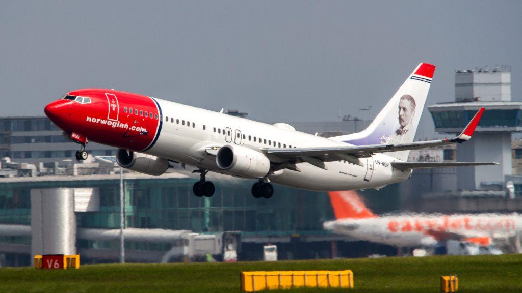 Norwegian разполага с над 160 самолета Боинг 737-800, -МАХ и 787 Дриймлайнър