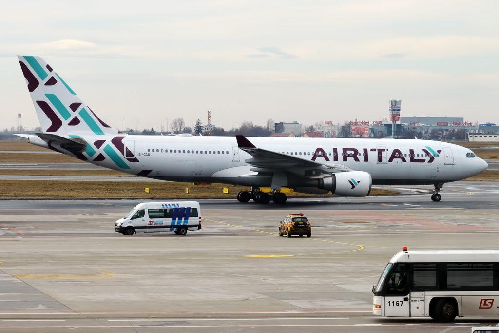 Всички A330-200 във флота на Air Italy са взети на лизинг от Qatar Airways