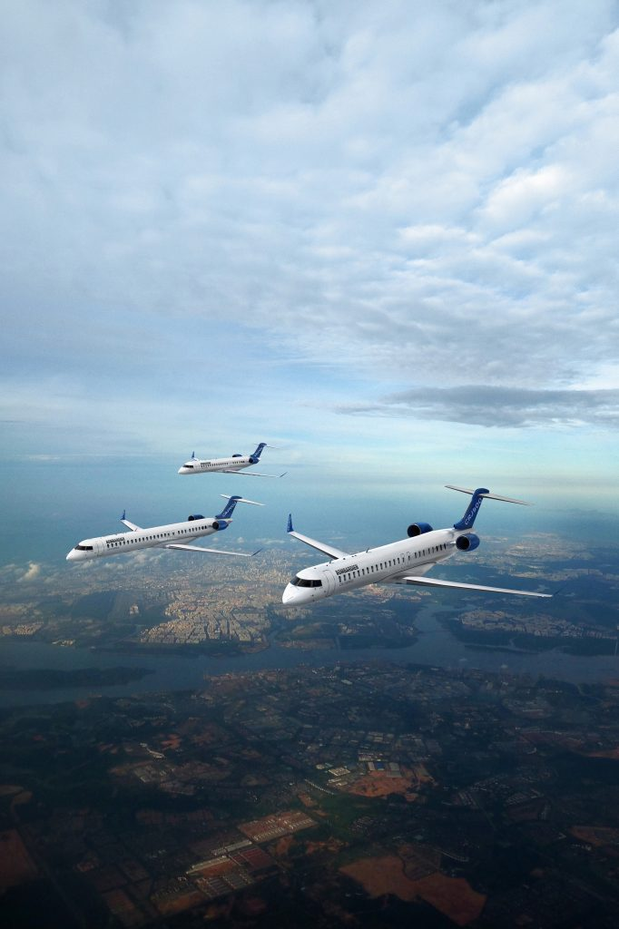 Семейството Bombardier CRJ Series