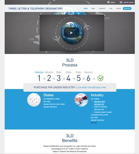 Така изглежда входът към уеб-базираната 3LD система
