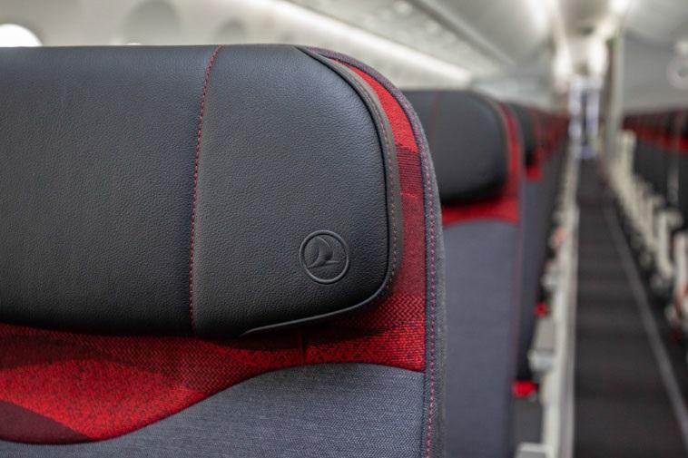 Икономична класа в Dreamliner 787 на Turkish Airlines