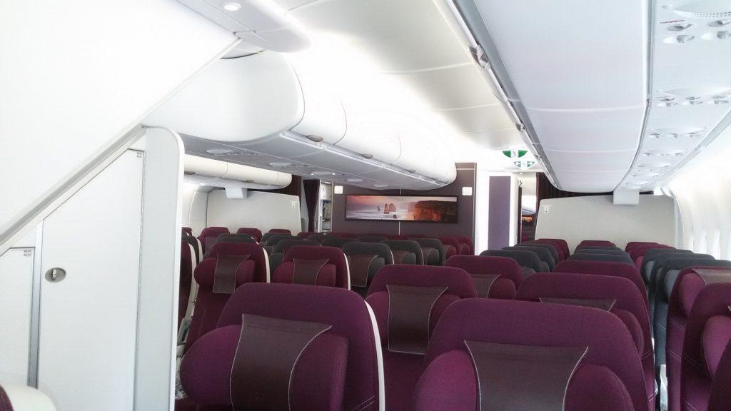 business class Qatar
