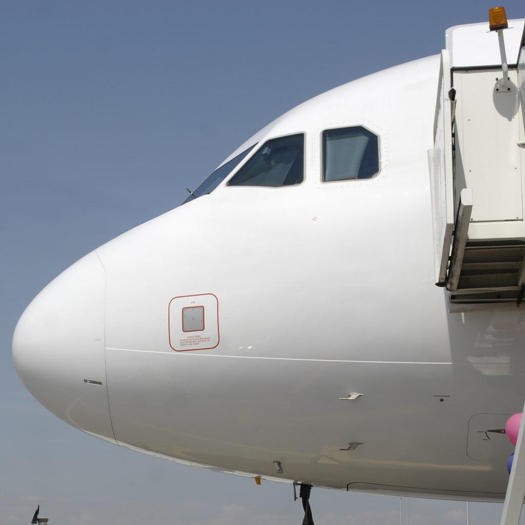 A321 на Wizz Air на летище София. Снимка: Авиофорум.