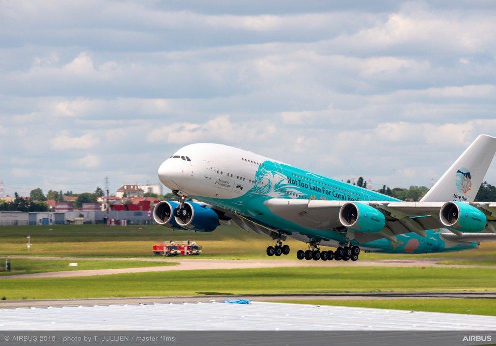 A380, снимка: Airbus