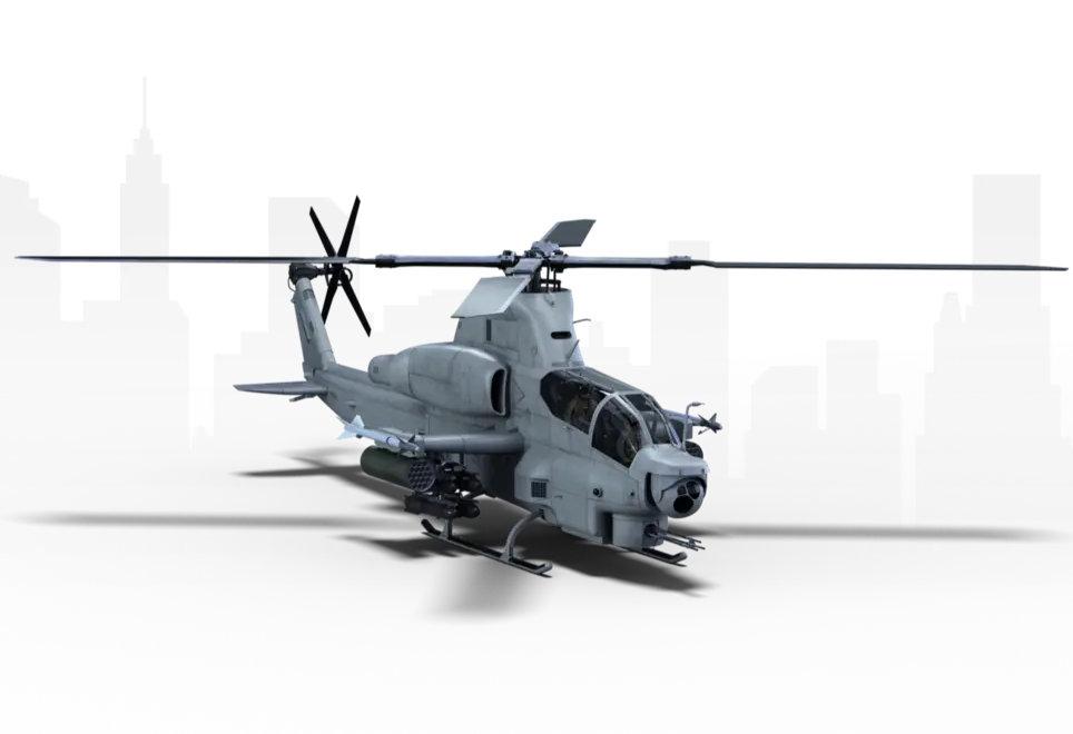 Bell AH-1Z. Графика: Bell