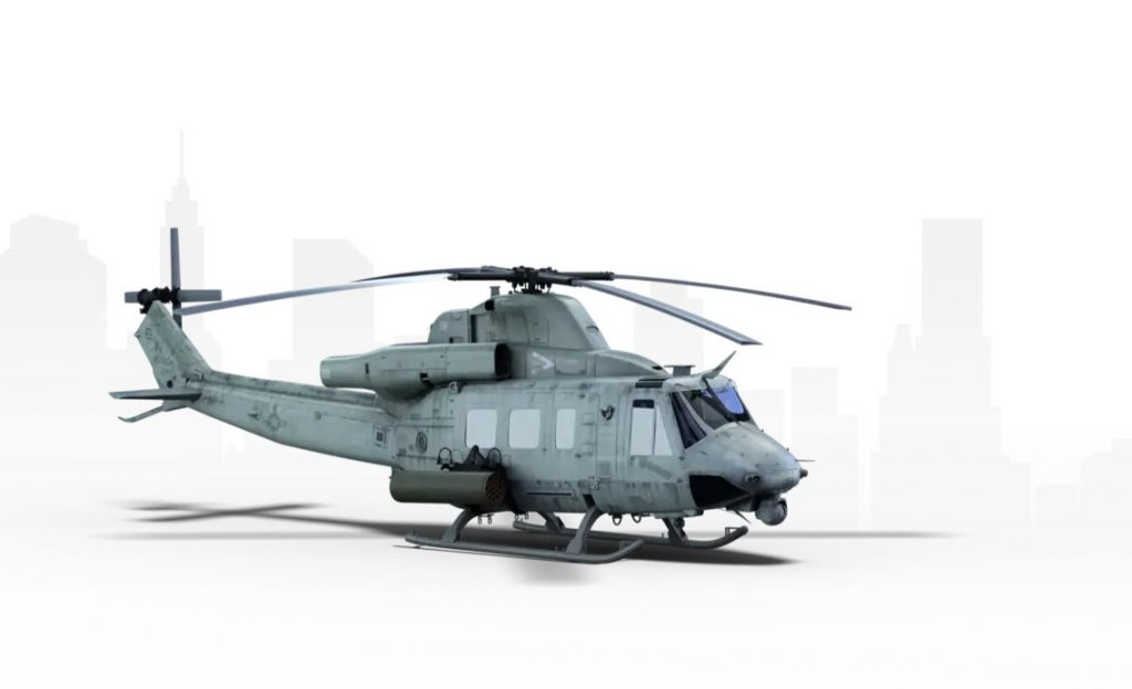 Bell UH-1Y. Графика: Bell