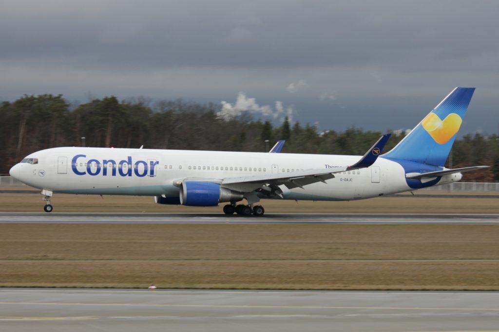 Синята окраска на Condor доскоро беше използвана за диверсификация на немското дружество на Thomas Cook