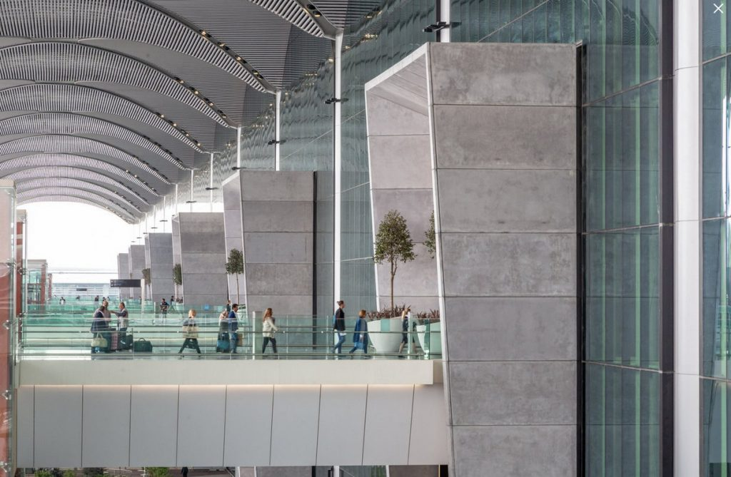Летище Истанбул, снимка: IGA