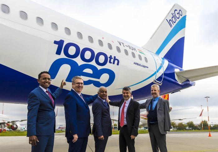 Това е 96-я самолет от neo семейството за IndiGo