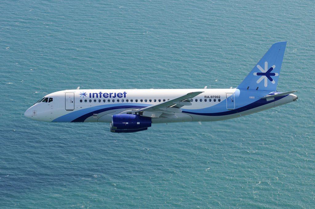 Interjet имаше 10 Суперджета във флота, преди да се откаже окончателно от услугите на Сухой