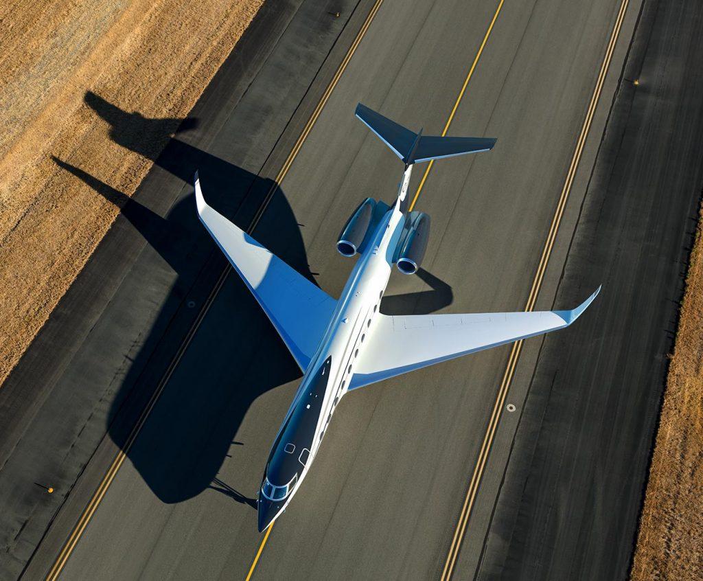 Gulfstream G700. Снимка: Gulfstream