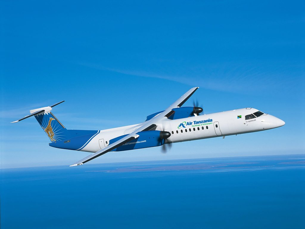 AirTanzania, De Havilland Dash 8. Снимка: De Havilland