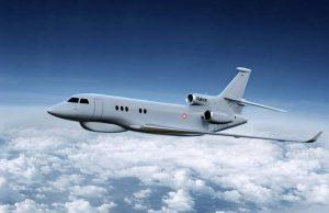 Falcon8X. Графика: Dassault Aviation