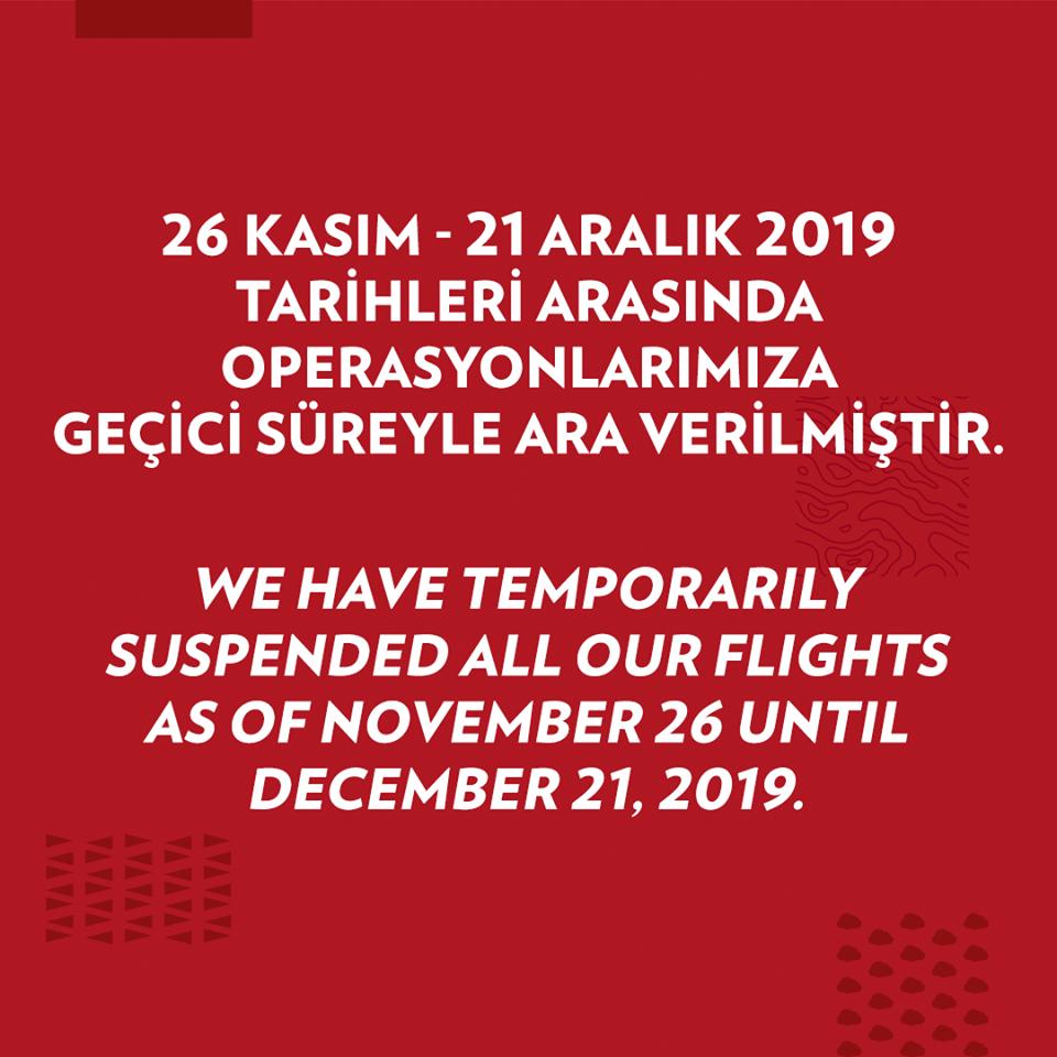 Постът от официалната страница на Atlas Global