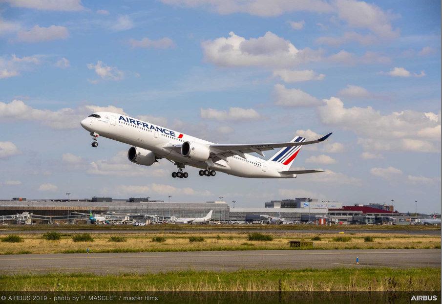 A350 на Air France. Снимка: Airbus