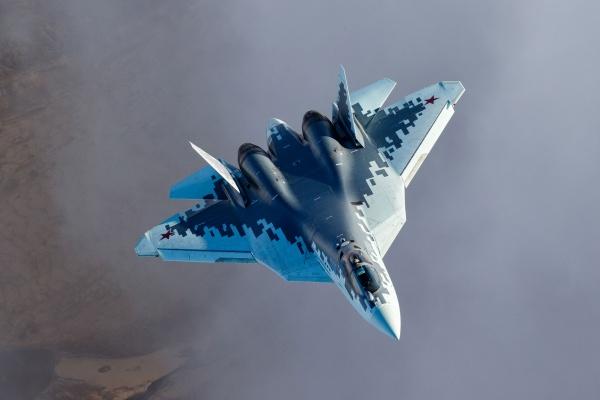 Су-57. Снимка: Сухой