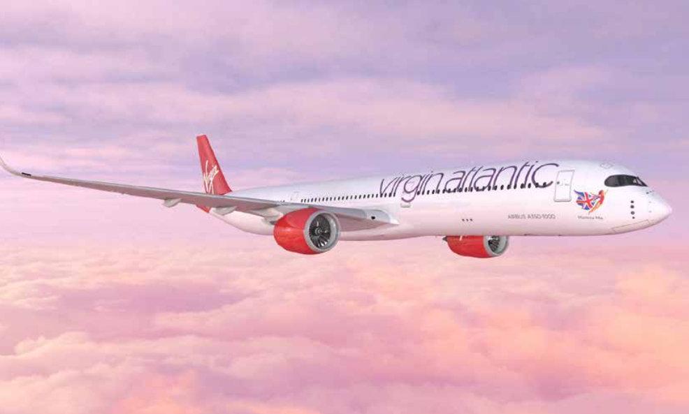 Virgin Atlantic Airbus A350.