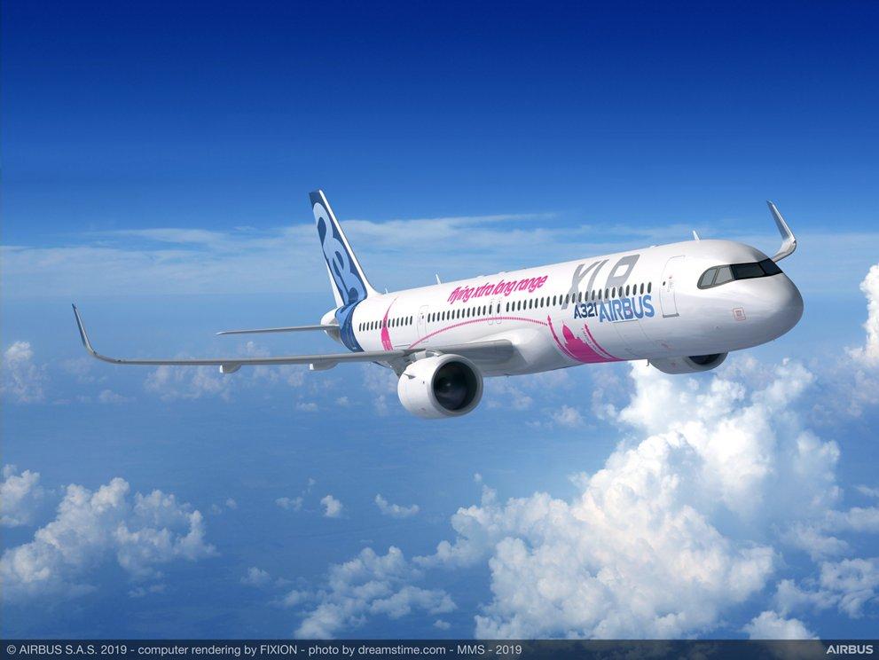 A321XLR. Снимка: Airbus