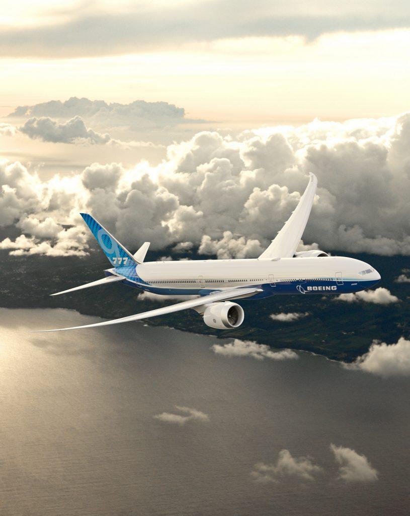 Boeing777Х. Снимка: Boeing