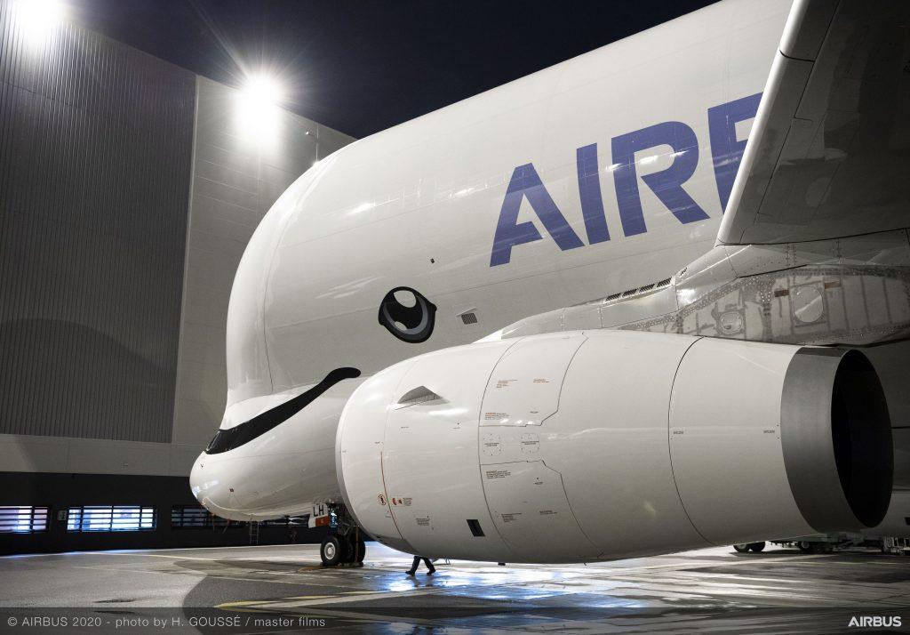 Beluga XL. Снимка: Airbus