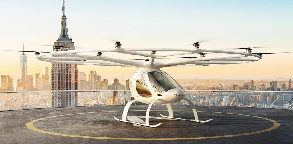 Графика:  Volocopter