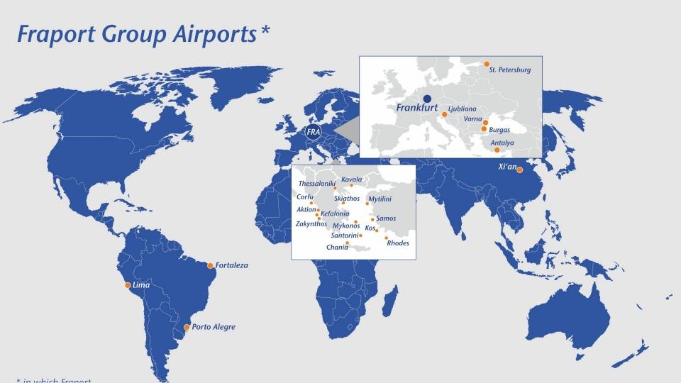 Графика: Fraport