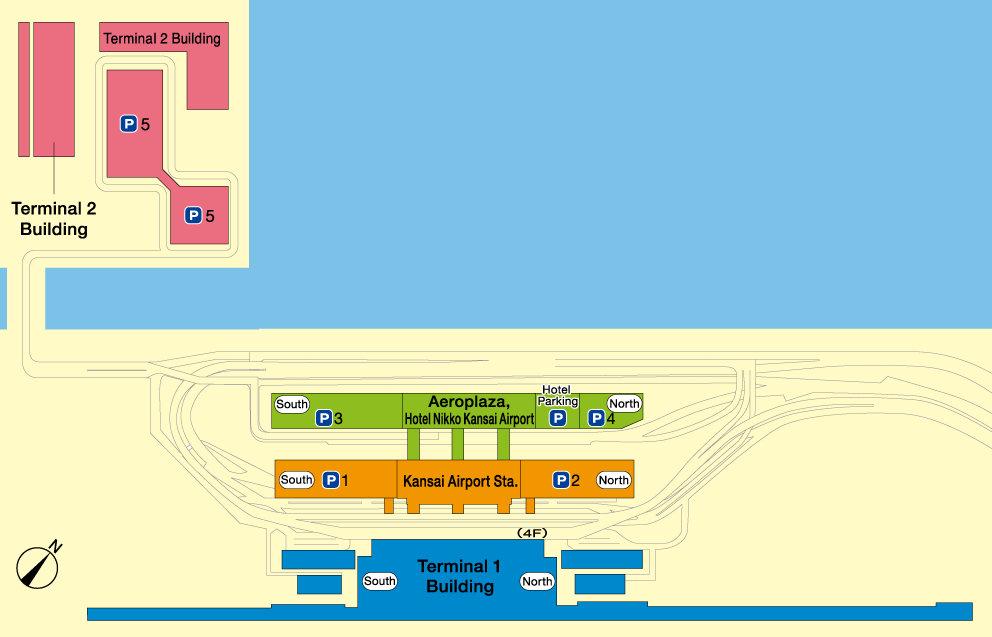 Графика: Летище Канзай