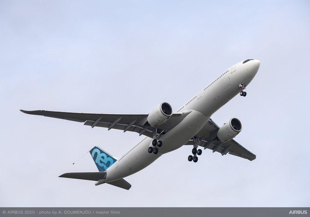 A330-900-Airbus-MSN1967-251 тона. Снимка: Airbus