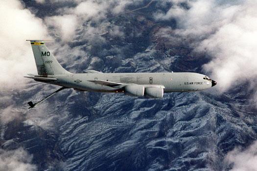 KC-135. Снимка: ВВС на САЩ